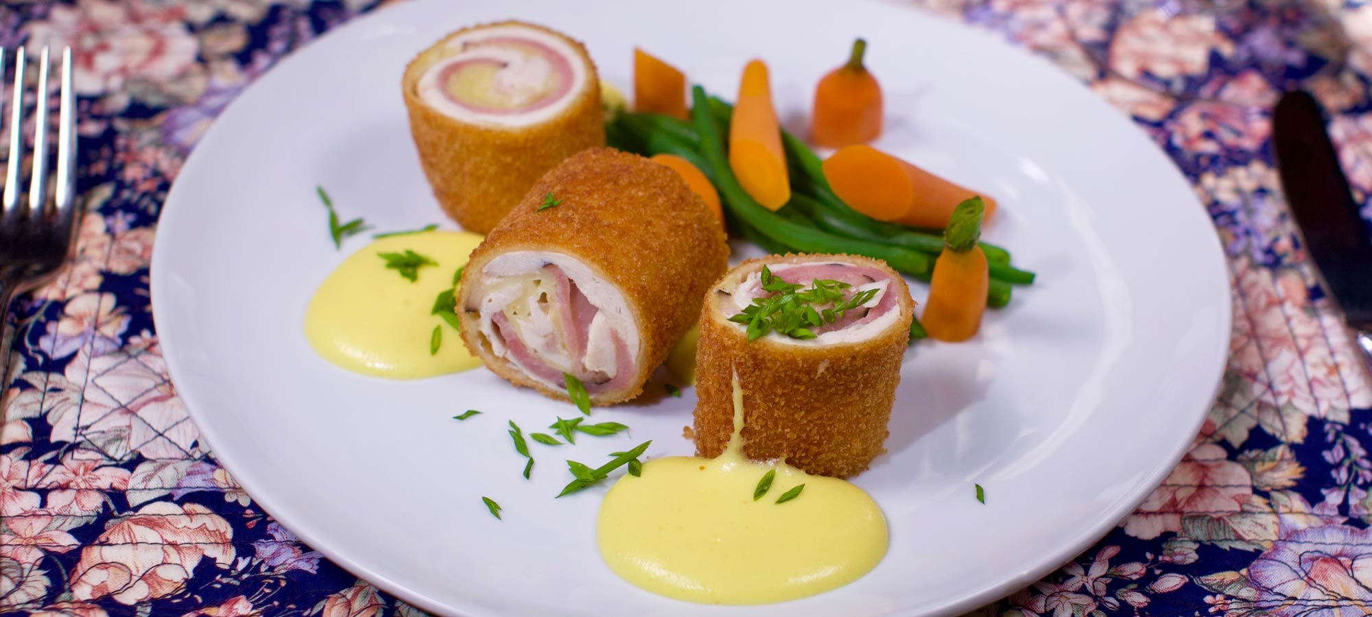 Chicken Cordon Bleu at countryman's Pleasure Restaurant in Rutland, VT